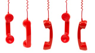 Red Phone Handsets
